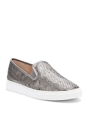 Becker Leather Slip-On Sneakers by Vince Camuto