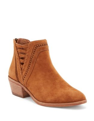 Pimmy Suede Booties by Vince Camuto