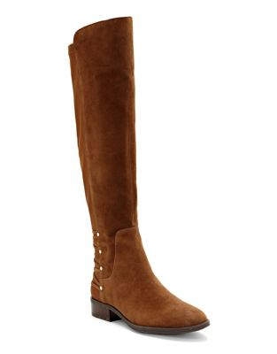 Phadina Suede Tall Boots by Vince Camuto