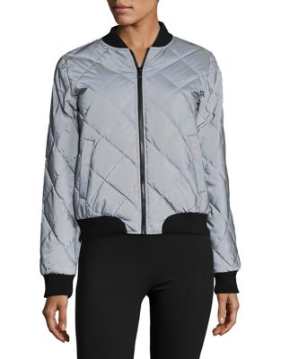 Quilted Bomber Jacket 500087391552