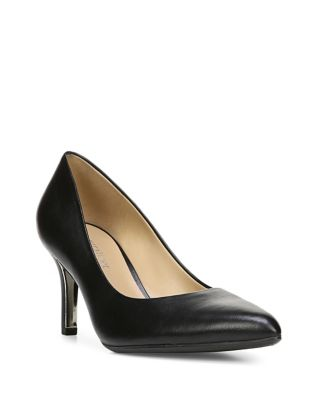 Natalie Leather Pumps by Naturalizer