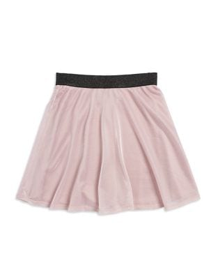 Girls Contrast Skirt