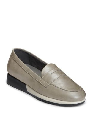 Time Off Leather Penny Loafer by Aerosoles