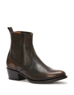 Photo of Diana Leather Booties by Frye - shop Frye shoes sales