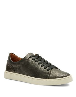 Ivy Leather Low Top Sneakers by Frye