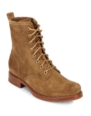 Veronica Suede Booties by Frye