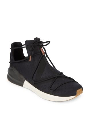 Fierce Rope Suede High-Top Sneakers by PUMA