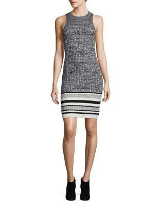 Rib-knit Bodycon Dress 500087395749