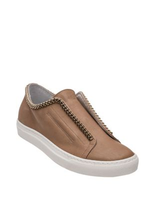 Danica Leather Slip-On Sneakers by Andre Assous