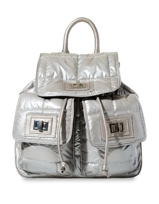 Quilted Flap Backpack 500087398299
