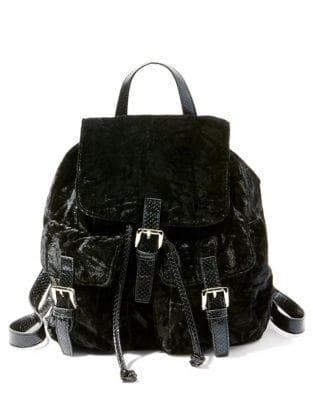 Bearl Velvet Backpack...
