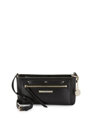 Mini Leather Crossbody...