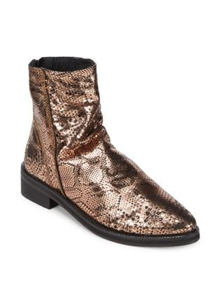Amarone Leather Boots by Free People