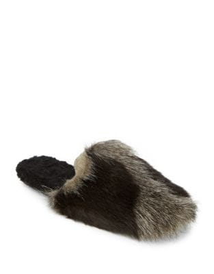 Hideaway Faux Fur Slippers by Free People