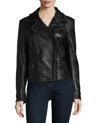 Sporty Leather Jacket...