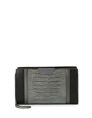 Leather Clutch @...