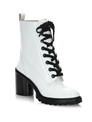 Ryder Lace-Up Leather Booties by Marc Jacobs
