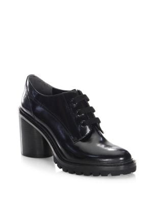 Gwen Lace-Up Leather Oxfords by Marc Jacobs
