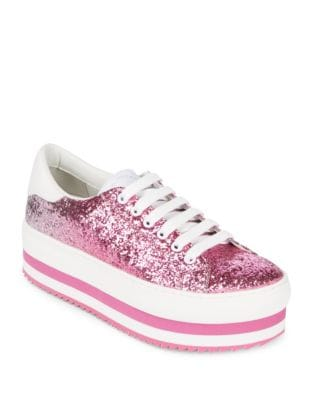 Grand Leather Sneakers by Marc Jacobs