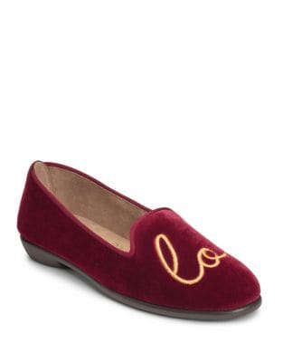 Betunia Novelty Velvet Loafer 500087404437