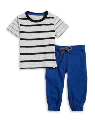 Baby Boys Striped Tee...