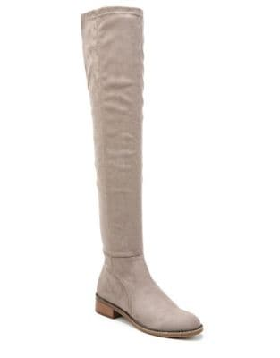 Bailey Suede Over The Knee Boots by Franco Sarto