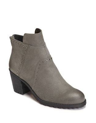 Incentive Nubuck Studded Booties by Aerosoles