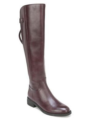 Brindley Wide Calf Leather Tall Boots by Franco Sarto