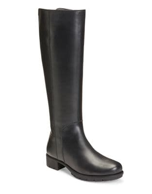 Just 4 You Leather Knee-High Boots by Aerosoles