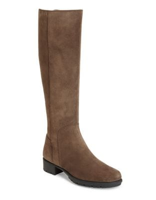 Just 4 You Suede Knee-High Boots by Aerosoles