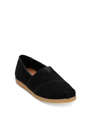 Crepe Alpargata Slip-On Flats by TOMS
