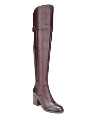 Ollie Wide Calf Leather Tall Boots by Franco Sarto