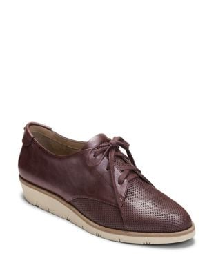 Sidecar Leather Oxfords by Aerosoles