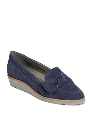 Sidewalk Apron Suede Loafers by Aerosoles