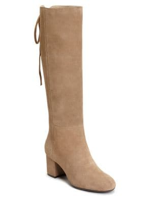 Stock Market Suede Tall Boots by Aerosoles