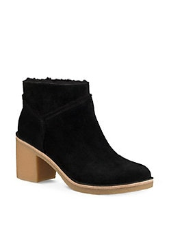 UGG - Kasen Shearling Block Heel Booties