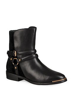 UGG - Kelby Buckled Leather Bootie