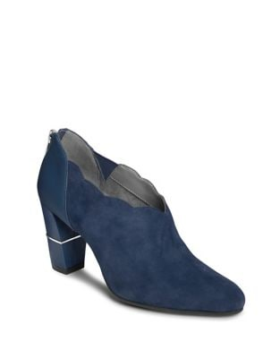 Teleport Suede Bootie by Aerosoles