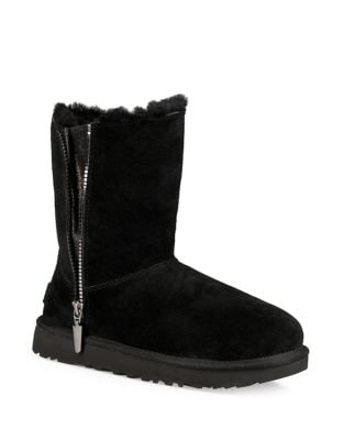 Marcie Sheepskin Fur Leather Booties by UGG