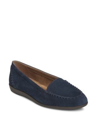 Trendy Suede Loafers by Aerosoles
