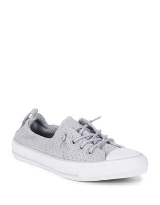 Cap Toe Leather Low-Top Sneakers by Converse