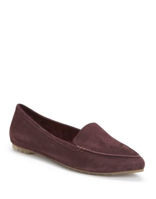 Audra Suede Loafers by Me Too
