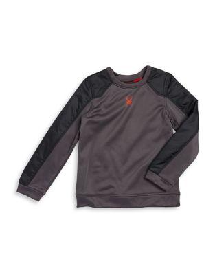 Boy's Two-Tone Sweatshirt...