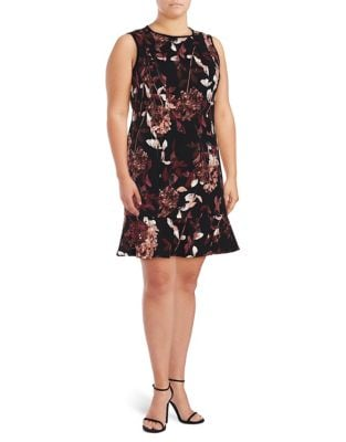 Plus Floral Sheath Dress by Ivanka Trump