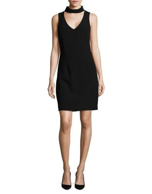 Chic Sheath Dress by Belle Badgley Mischka