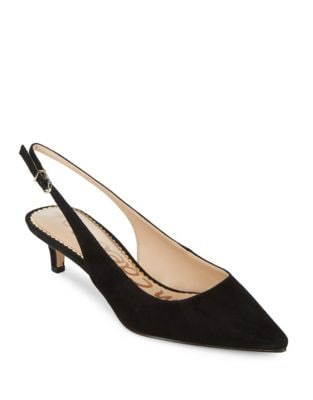 Ludlow Suede Slingback Pumps by Sam Edelman
