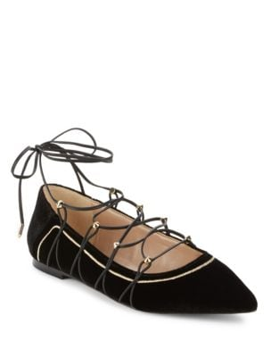 Rockwell Lace-Up Flats by Sam Edelman