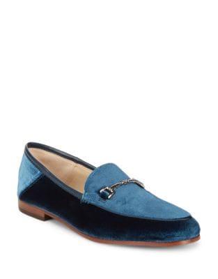 Loraine Velvet Loafers by Sam Edelman