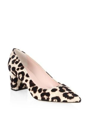 Milan Too Leopard-Print Calf Hair Pumps by Kate Spade New York
