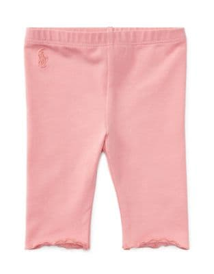 Babys EyeletCuff Jersey Leggings